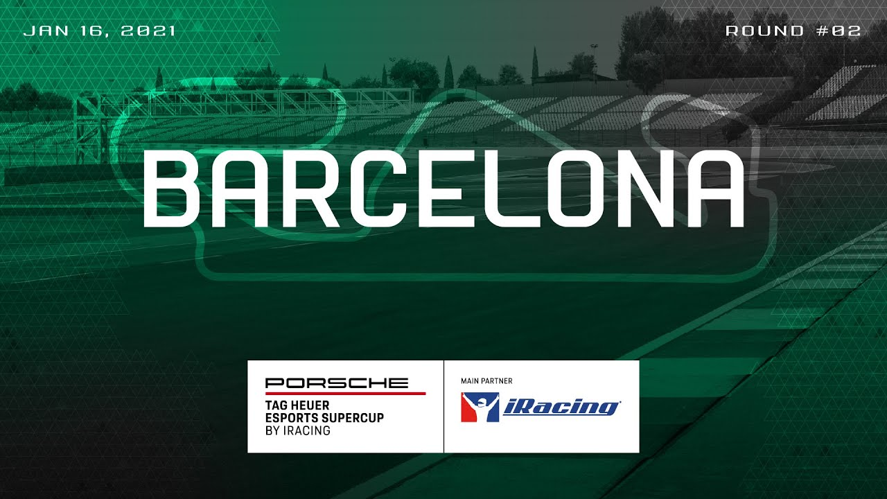 iRacing Porsche Supercup: Round 2 at Barcelona Live!