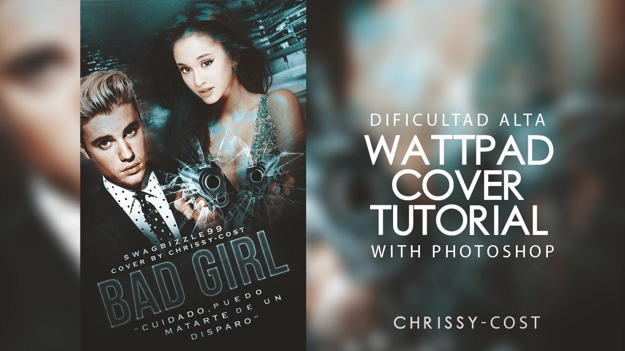 Wattpad Book Cover Tutorial Photo ~ Wattpad cover photoshop youtube