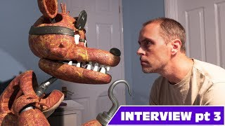 real fnaf Foxy interview 03 - Is he really the purple guy?