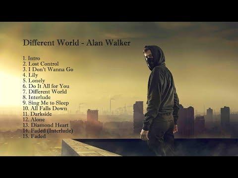 Alan Walker Different World FULL ALBUM | Listen To Alan Walker Darkside, Faded
