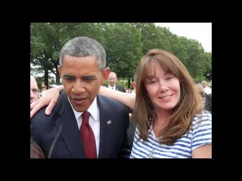 President Obama & Michelle Obama Visit Section 60 @ Arlington National Cemetery on Memorial Day 2013