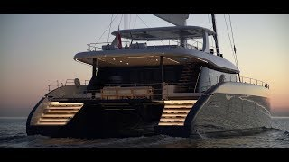 Sunreef 80 THE biggest catamaran (24,4m) at the cannes 2018 boatshow!
