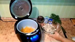 Домашние видео рецепты - вешенки в сливочном соусе в мультиварке