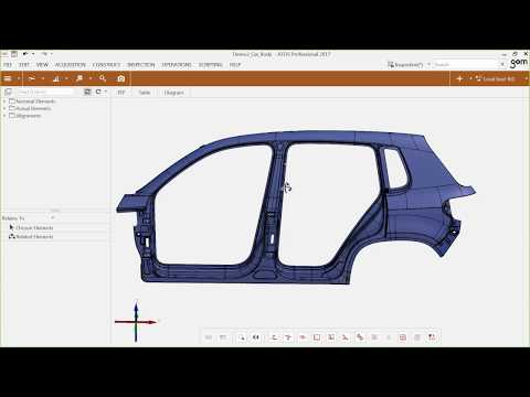 GOM Webinar – Surface Analysis of Sheet Metal Parts