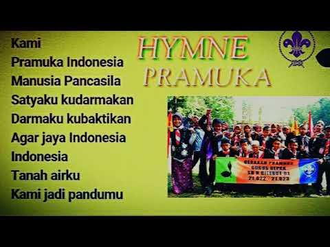 Lagu Hymne Pramuka with lyrik