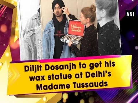 Diljit Dosanjh to get his wax statue at Delhi's Madame Tussauds - #ANI News