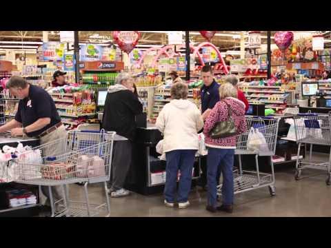 Carl Edwards Hidden Camera Bagging Groceries