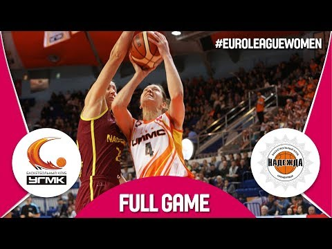 UMMC Ekaterinburg (RUS) v Nadezhda (RUS) - Full Game - EuroLeague Women 2017-18