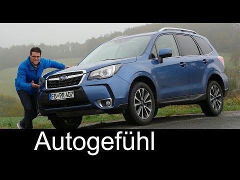 Subaru Forester XT FULL REVIEW test driven Facelift 2017 new/neu - Autogefühl