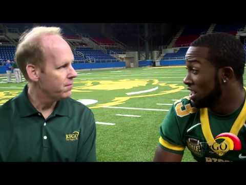 KFGO.com: Interview W/ Bison RB John Crockett