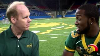 KFGO.com: Interview W/ Bison RB John Crockett