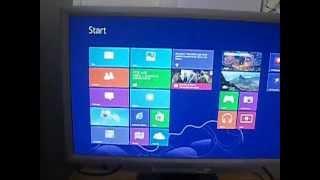 Windows 8 on Pentium D 2.8 GHz, 1 gb ram, Radeon 9600