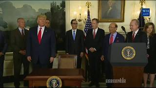 President Trump answers CNN Jim Acosta questions