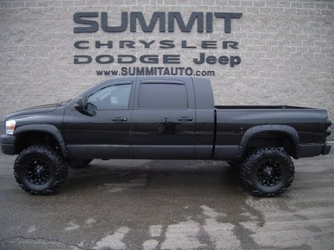 SOLD! 9361 2008 USED DODGE RAM 3500 MEGA CAB MEGACAB DIESEL REVIEW FOND DU LAC  www.SUMMITAUTO.com