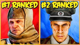 RANKING EVERY CHARACTER IN COD ZOMBIES FROM WORST TO BEST