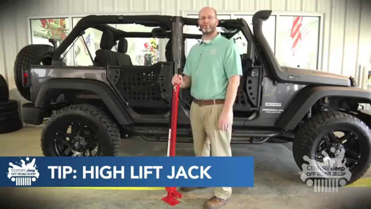 Century Jeep Off Road Shop Tip 2 High Lift Jack Youtube