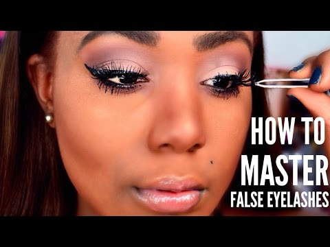 HOW TO : Apply False Lashes, Clean, and HOW TO Remove I FALSE EYELASHES 101