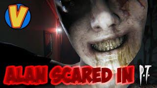 Alan screams playing PT (Silent Hill)