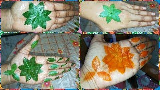 MOST TRENDING SIMPLE MEHNDI TRICK|SURPRISING TRICK EVER| HOW TO APPLY MEHNDI WITHOUT CONE& PASTE