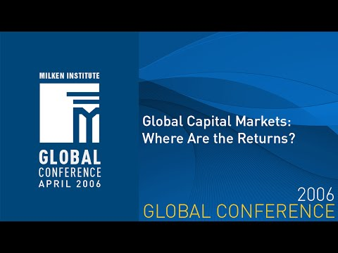 Global Capital Markets: Where Are the Returns?