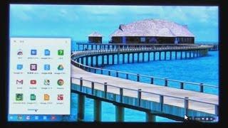 Chromebook Acer C720 Core i3 の基本操作