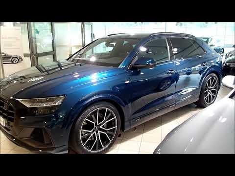 New 2019 Audi Q8 Galaxi Blue TDI quattro(walkaround)