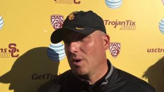 FightOn247 Video: Clay Helton Presser Thursday (3/31) Spring Practice