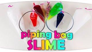 Krema Poşeti ile Slime Challenge ( GİZLİ SLIME ) Anneler Kapışıyor HoppiTV ile - Piping Bags Slime