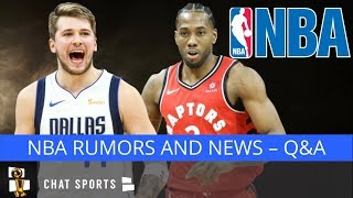 Kevin Love Trade, Dallas Mavericks Rumors, LeBron James & Anthony Davis | NBA Free Agency Mailbag