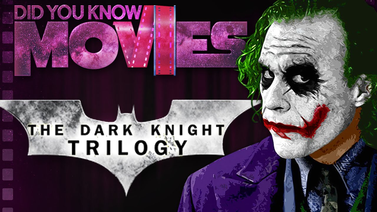 The Batman Dark Knight Trilogy's Groundbreaking Effects ft. WeeklyTubeShow - Did You Know  - Why so serious?