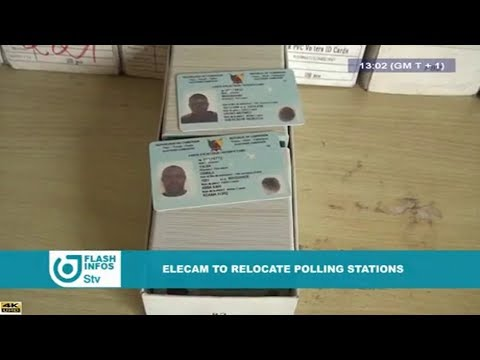 STV - THE 01:00 PM FLASH INFOS - (ELECAM to RELOCATE POLLING STATIONS) - Monday 13th August 2018