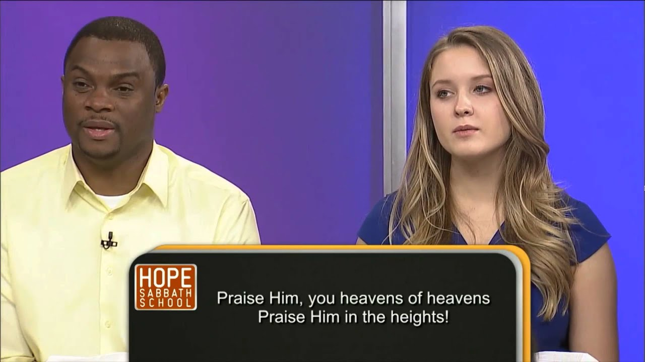 Hope Sabbath School: Lesson 2 - The Ministry of Jesus Begins (2nd Qtr 2016)
