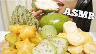 ASMR EXOTIC FRUITS (EATING SOUNDS) NO TALKING   SAS-ASMR