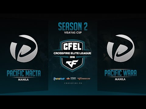 Pacific.Macta vs Pacific.Wara  – Crossfire Elite League Mindanao Cup – Round 3 Match 4