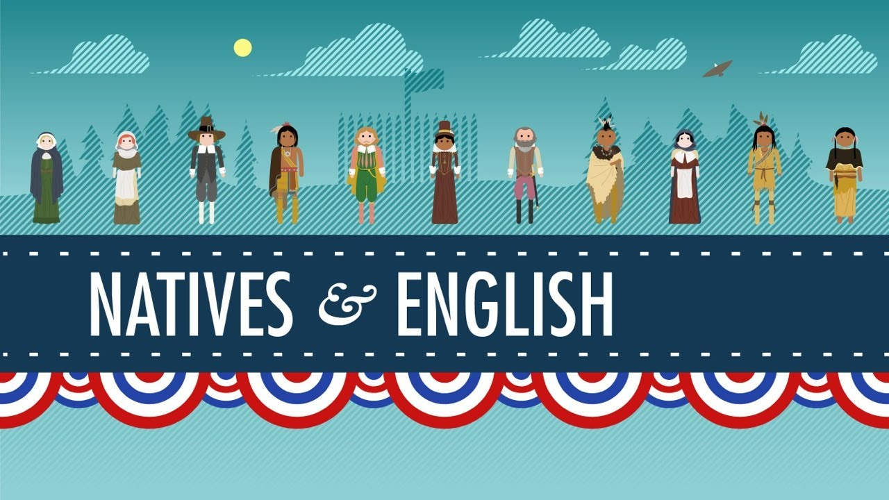 small resolution of The Natives and the English - Crash Course US History #3 - YouTube