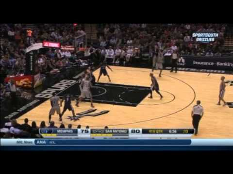 Boris Diaw 14 Points Full Highlights Spurs vs Grizzlies (10.30.2013)