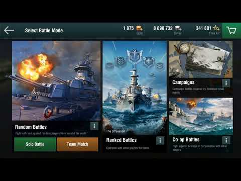 World of Warships Blitz Updates 1.3 Features Commentary Explanation video