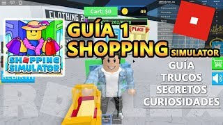 Shopping SIMULATOR, How to Play and Level Up + the BLACK Market, ROBLOX English Guide Tutorial 1