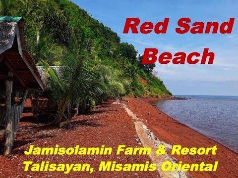 Red Sand Beach in Talisayan, Misamis Oriental