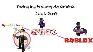 Todos los trailers oficiales de ROBLOX 2006-2017 Starmarine205