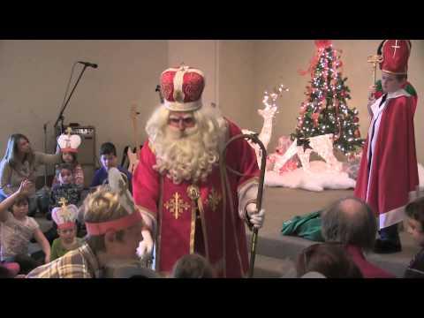 Saint Nicholas becomes Santa Claus 2014