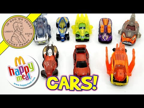 Hot Wheels Cars McDonald's 2006 Happy Meal Fast Food Toy Review
