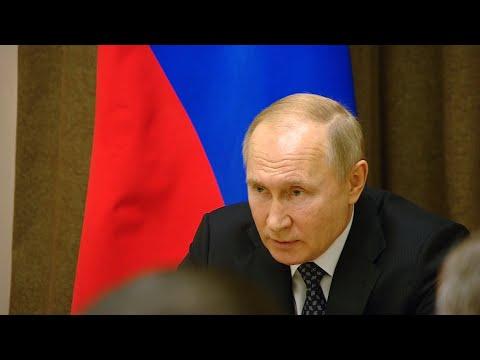 Путин: приближение НАТО к границам России угрожает безопасности страны