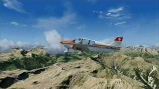 FS2004 & Tileproxy - Switzerland (HD)