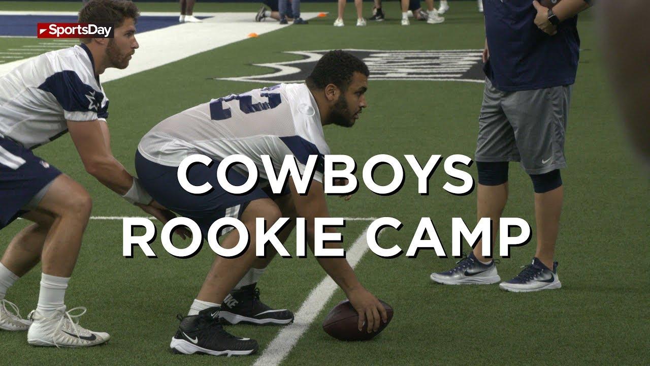 Jason Garrett on Rookie Camp
