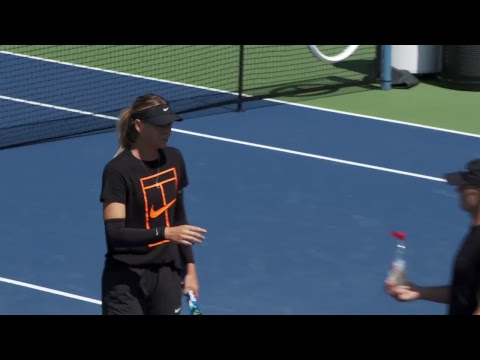 LIVE US Open Tennis 2017: Maria Sharapova Practice
