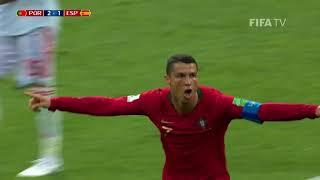 Purtagal vs Spain match