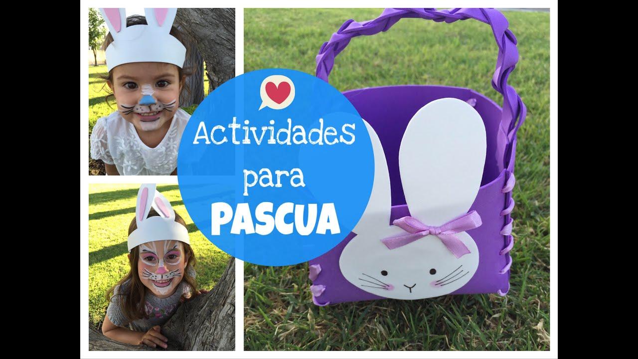 Actividades para ni os de pascua youtube - Actividades para ninos pequenos ...
