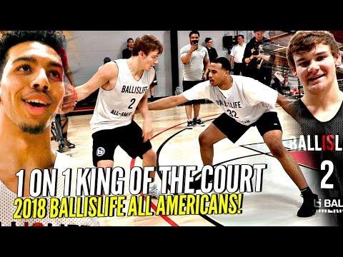 Ballislife 1 on 1 King of The Court!! 🔥🔥 Mac McClung, Nassir Little, Jules B GET SAUCY!! +More!
