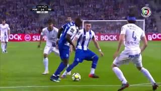 Goal | Golo Brahimi: FC Porto (2)-0 Feirense (Liga 17/18 #33) براهيمي